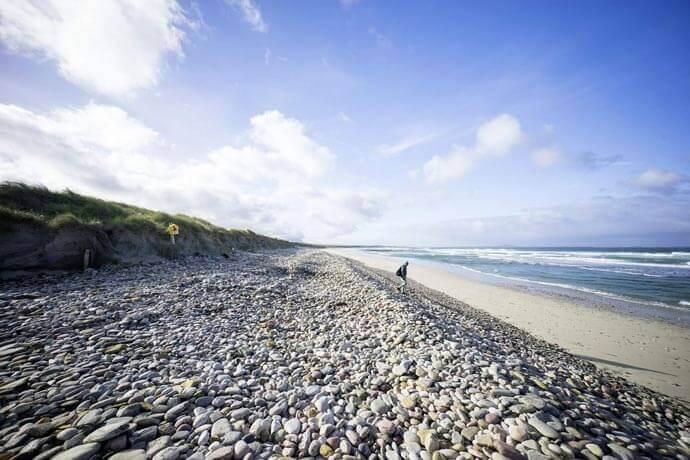 elly beach surfing in Mayo