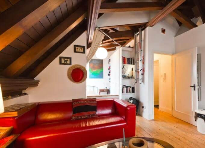 dublin airbnb in old church