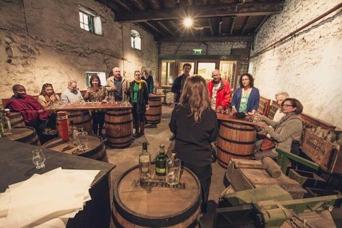 Kilbeggan whiskey tour