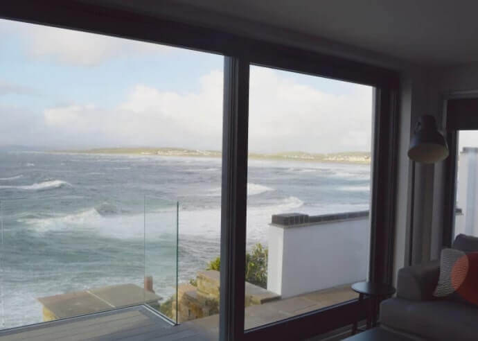 waves from the window