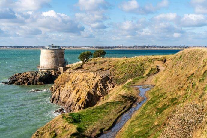 martello tower dublin airbnb