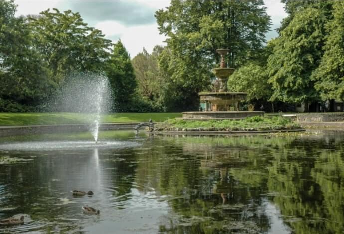 Fitzgerald's Park in cork city
