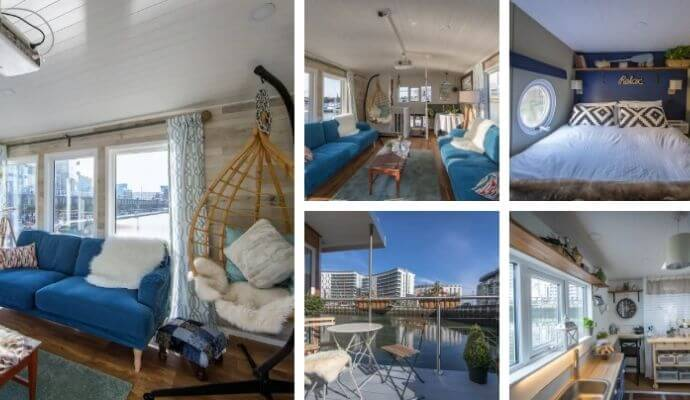 Barge At Titanic - Harland Berth Airbnb in Belfast
