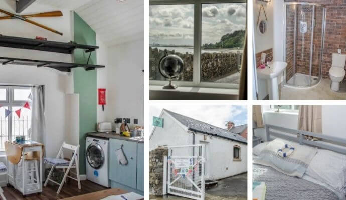 Belfast Boat House Airbnb- right beside the sea