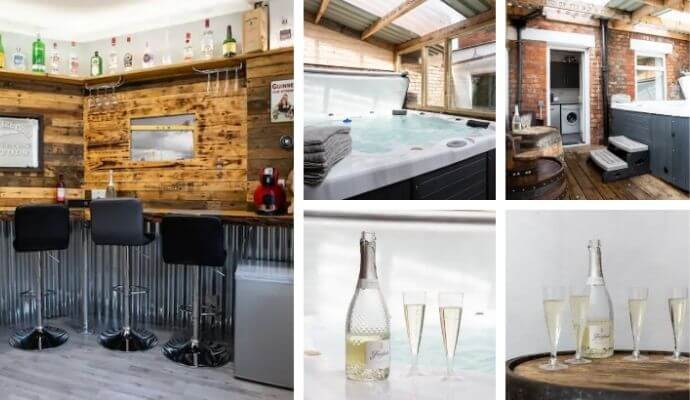 Belfast Hot-Tub House Airbnb - in the City Center