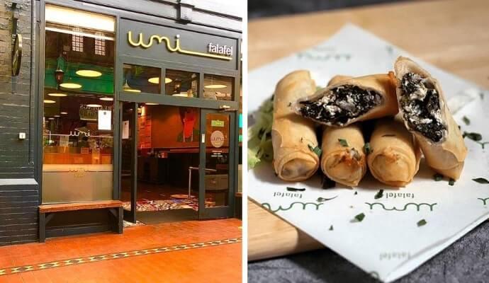 Umi Falafel restaurant dublin