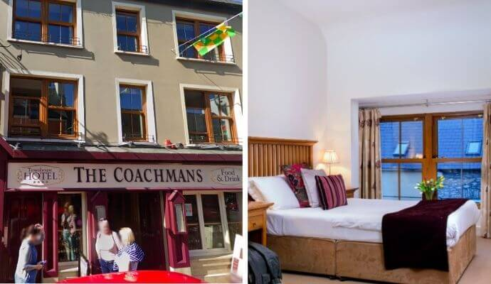 Coachmans Townhouse accommodation Kenmare