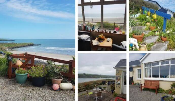 Idyllic Inchydoney beach cottage Airbnb in Cork
