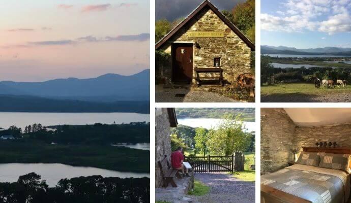 Alpaca Lodge B&B with stunning views and alpacas in Kerry