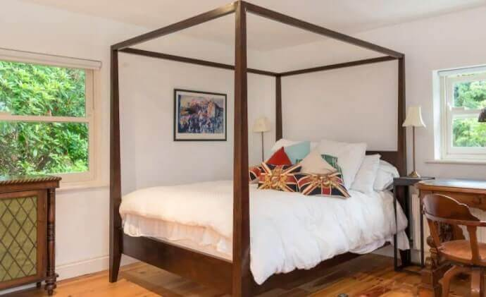 a fancy four poster