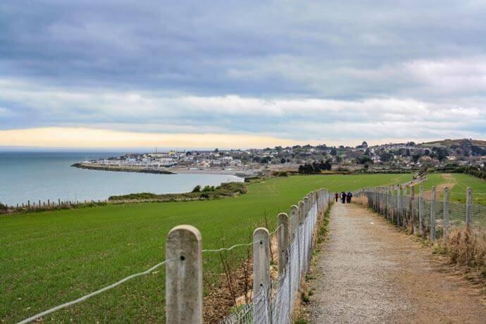bray to greystones walk time
