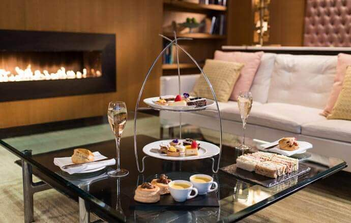 The Fitzwilliam Hotel afternoon tea