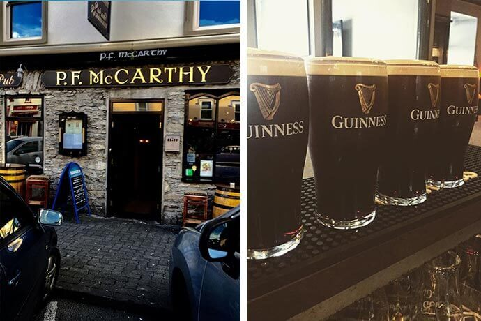 PF McCarthy's pub kenmare ireland