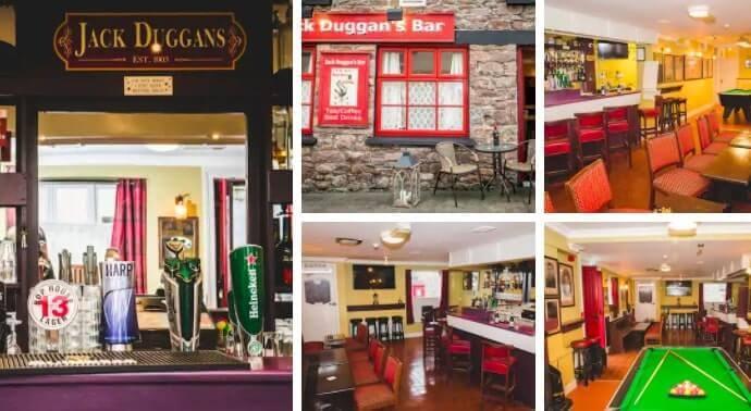 airbnb in killarney with pub