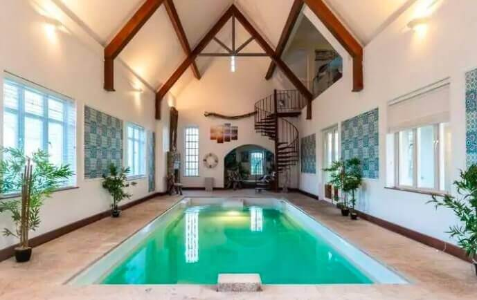 airbnb with a pool