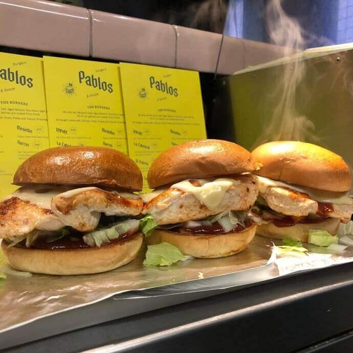 pablos burger spot