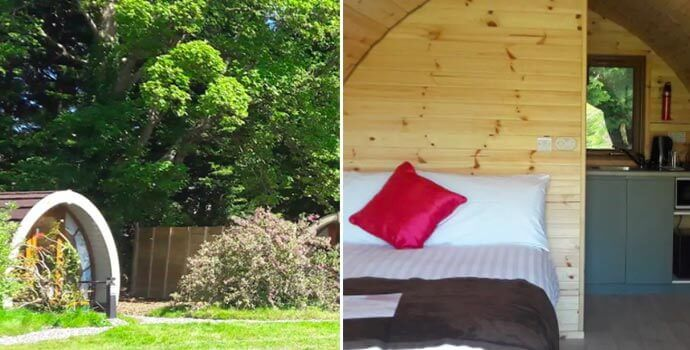 priory glamping