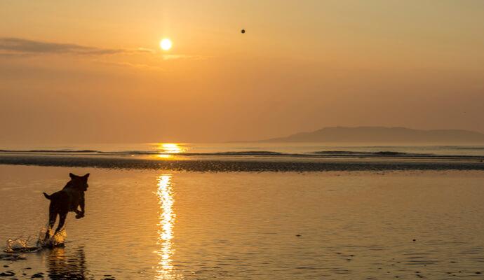Donabate beach sunset