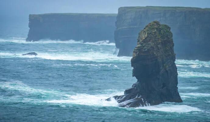 The Kilkee Cliff