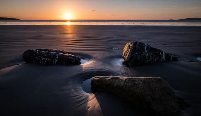 Bull Island at sunrise