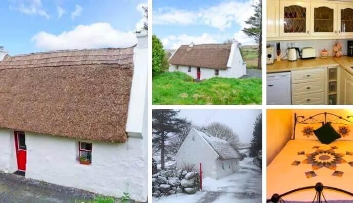 spiddal thatched cottage