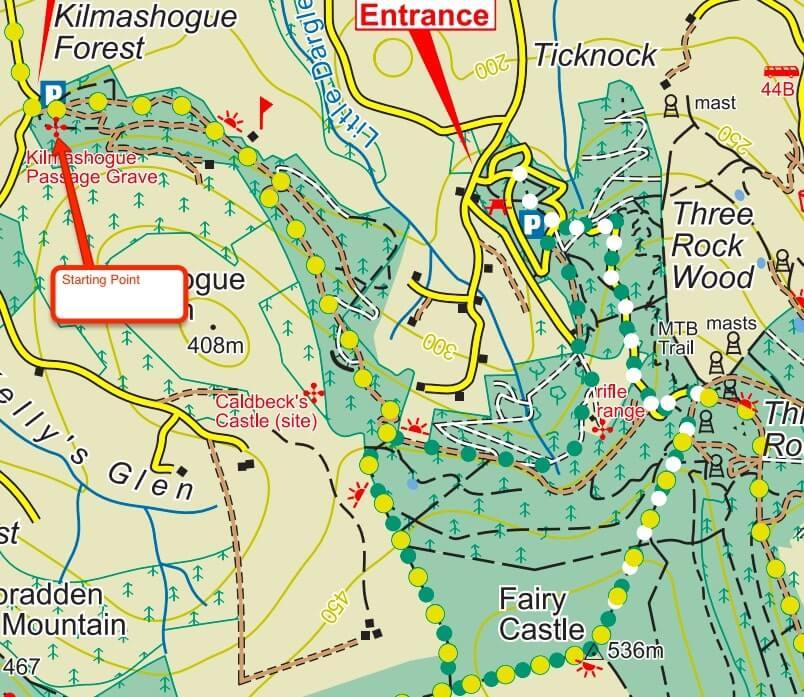 Ticknock mountain walk