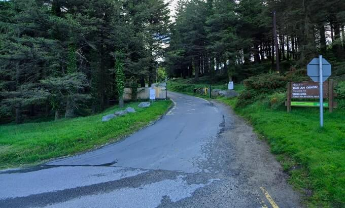 ticknock forest parking