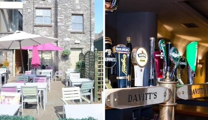 Davitt's is one of our favourite kenmare restaurants