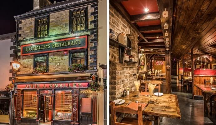 JJ O'Malleys restaurant in westport