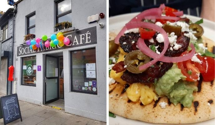 Social Fabric Café restaurant dublin