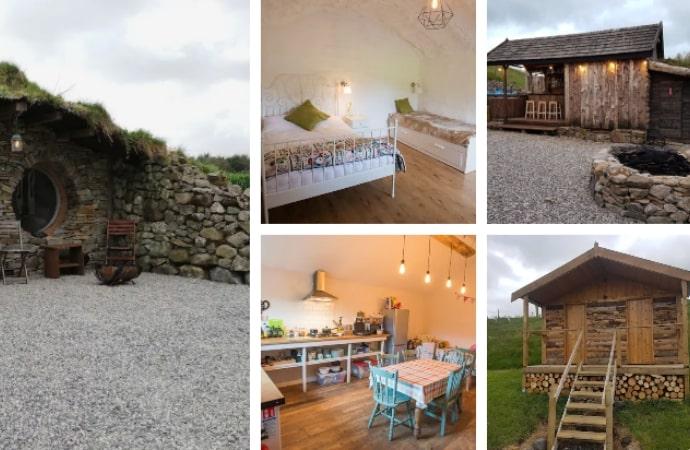 Mayo Glamping – Roisin Bui (Hobbit Hut), County Mayo