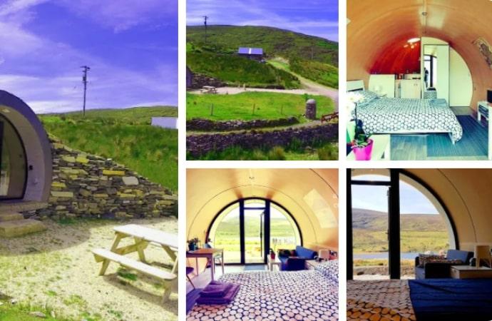 Cropod – Best Getaway in Ireland Hillpod, County Donegal