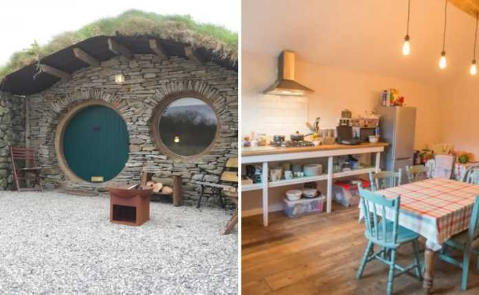 2 photos of Harry Potter and Lord of the Rings Themed Airbnbs