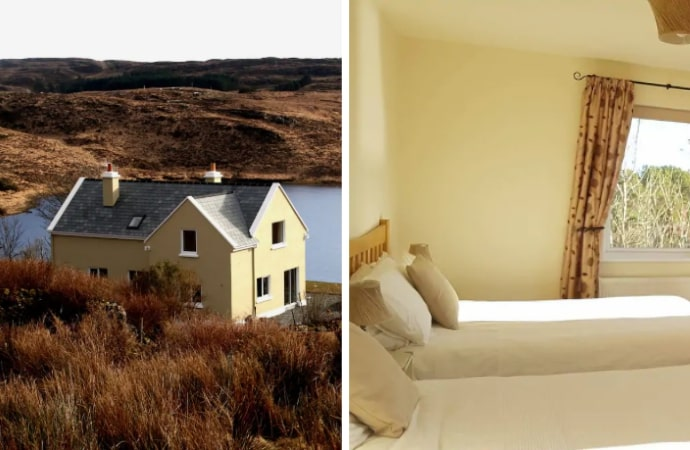 Connemara Lakeside Cottage Airbnb, County Galway