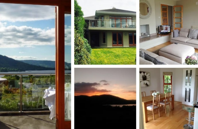 Luxury 4-bed lakeside house Airbnb, County Tipperary