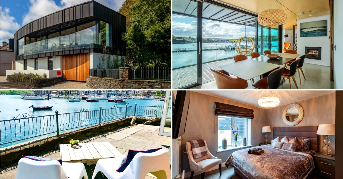 4 photos of airbnbs in kinsale