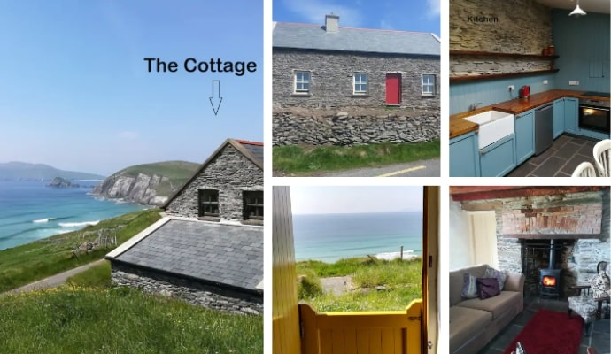 Coastal Cottage, Dingle on Wild Atlantic Way Airbnb