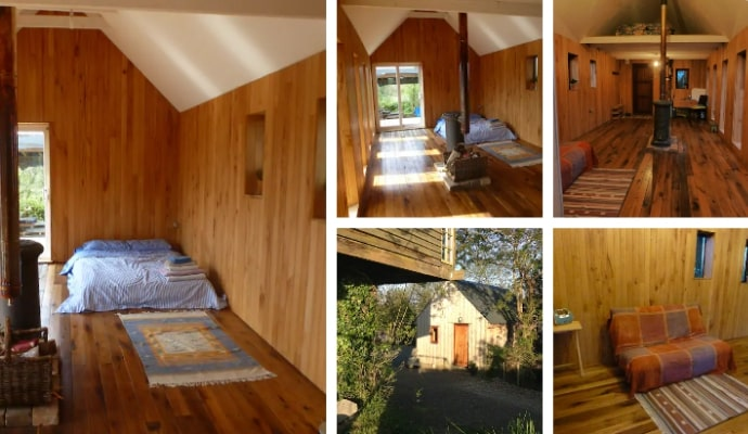 Badger's Hill Low Impact Chalet Airbnb