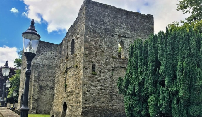 maynooth castle in kildare