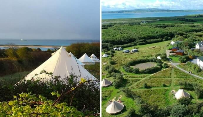 pure camping in clare
