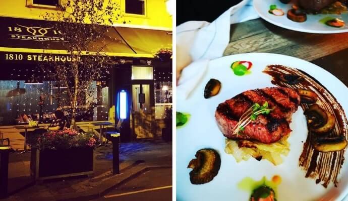 1810 Steakhouse restaurant athlone
