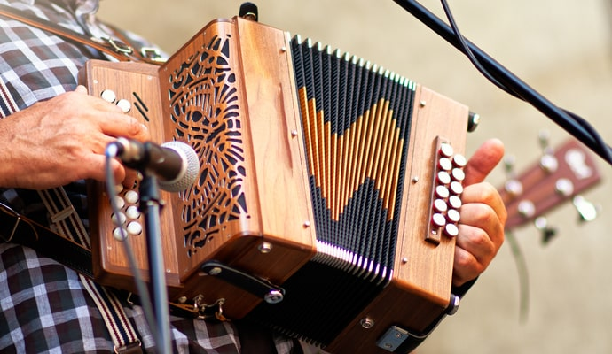 the Accordian and Concertina