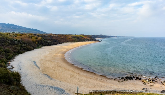 Ballymoney Beach in wexford