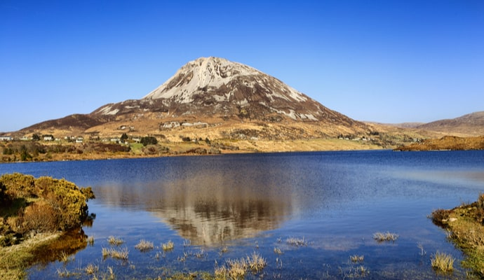 climbing mount errigal