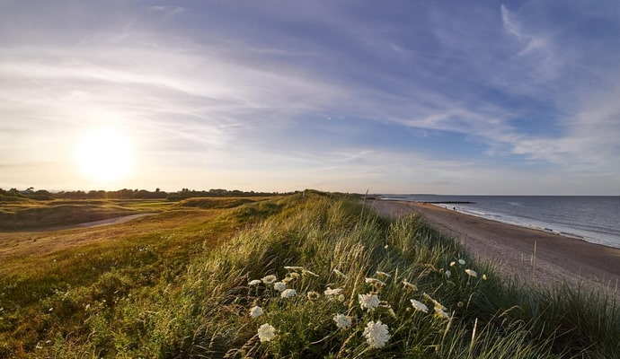Golf course at Rosslare Strand, Ireland