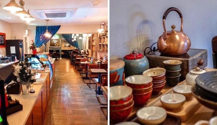 The Vintage Teapot restaurant dublin