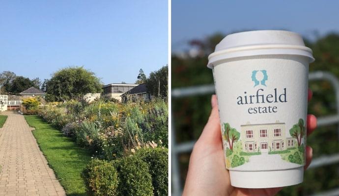 Airfield Estate afternoon tea