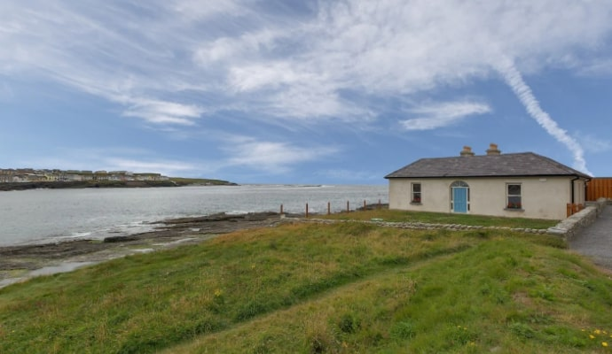 view of irish coastline
