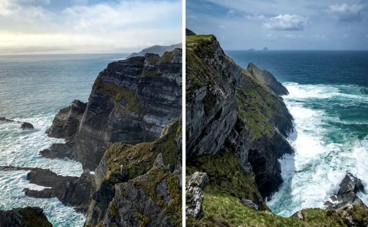 the kerry cliffs portmagee