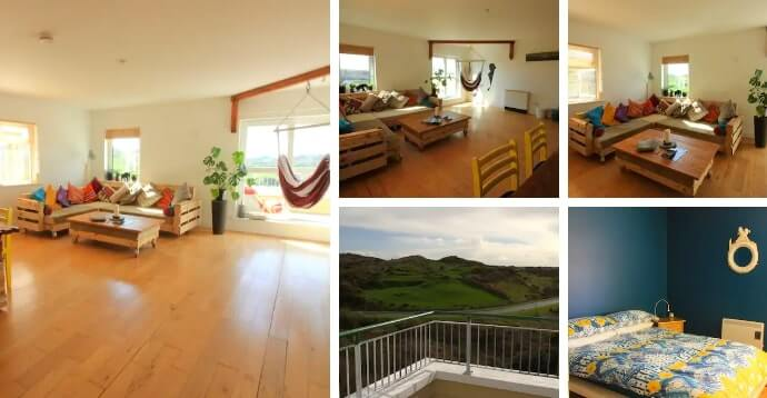 cool little airbnb in Clifden